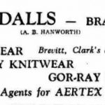 Advert for Goodalls