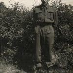 Les Bond in his Home Guard uniform