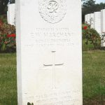 Headstone of Ernest Marchant