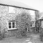 Image of cottage as it looked c. 2000 when Peter Woods made a nostalgic return visit to Brandon.